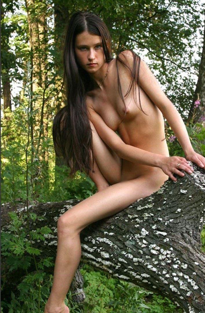 白人 大自然 ヌード エロ画像 19