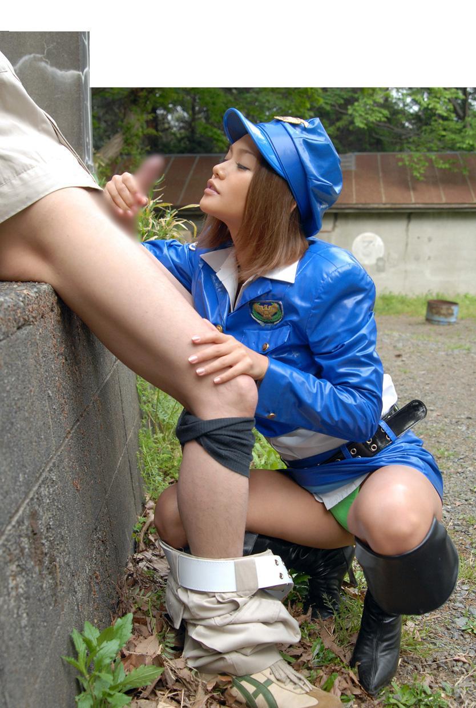 婦警 ミニスカポリス エロ画像 12