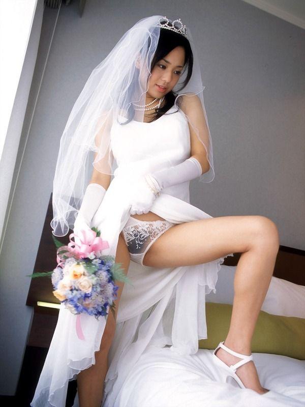 ウェディングドレス エロ画像 07