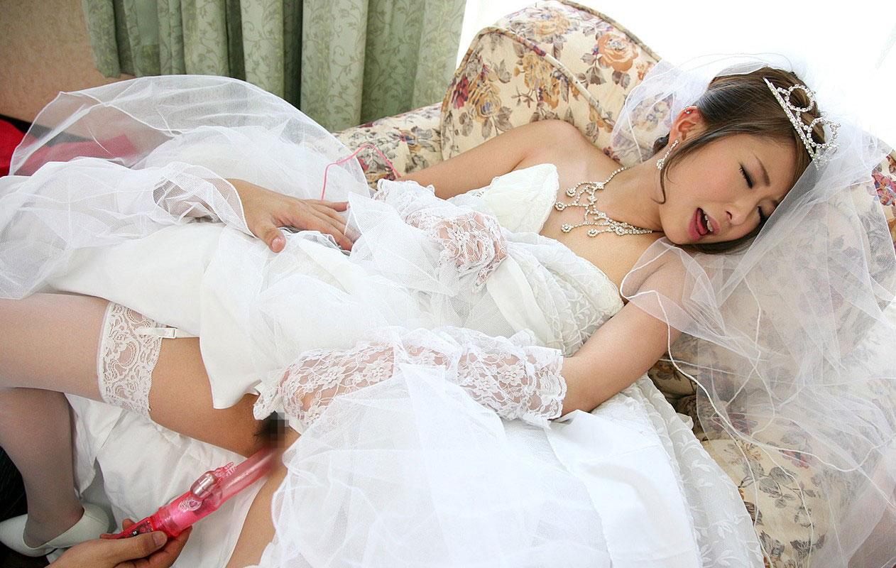 ウェディングドレス エロ画像 30