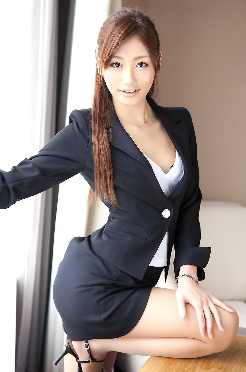 三次元 3次元 OL スーツ エロ画像 べっぴん娘通信 01
