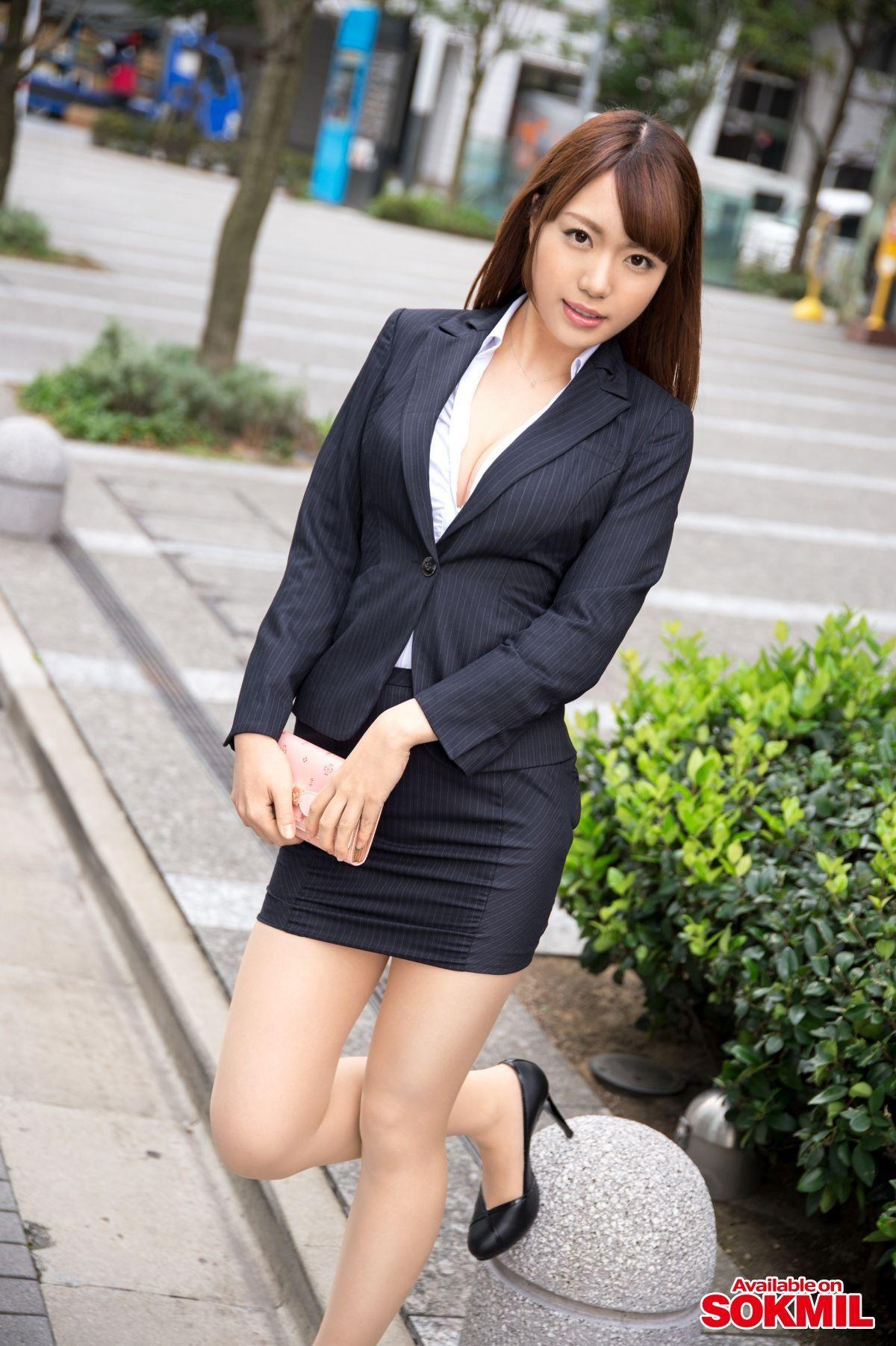三次元 3次元 OL スーツ エロ画像 べっぴん娘通信 32