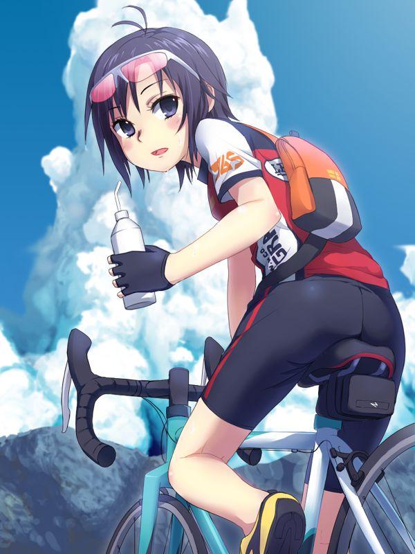 二次元 2次元 エロ画像 自転車 べっぴん娘通信 04