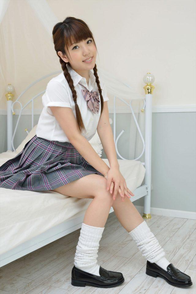 三次元 3次元 エロ画像 JK 女子校生 ルーズソックス べっぴん娘通信 09
