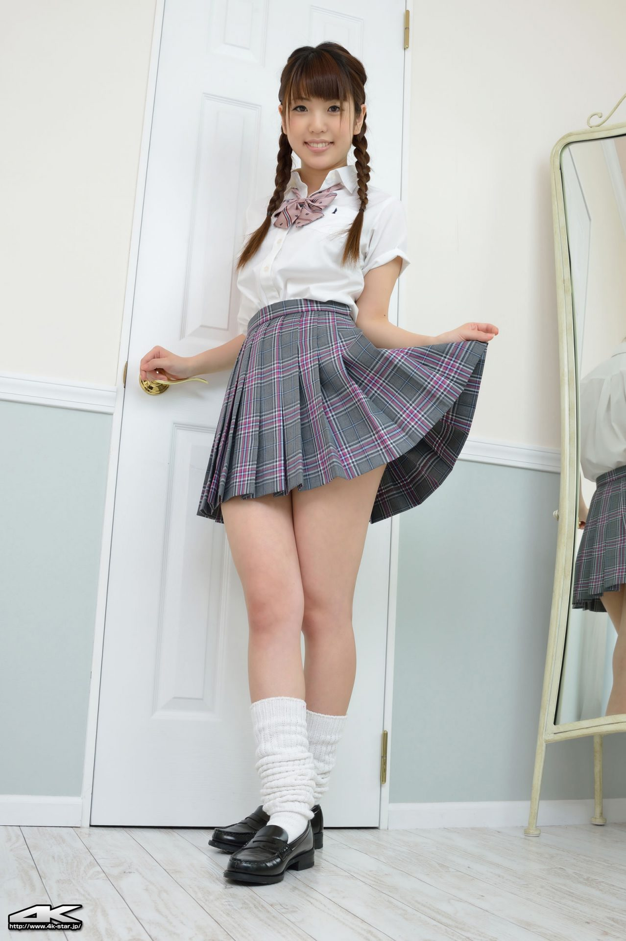 三次元 3次元 エロ画像 JK 女子校生 ルーズソックス べっぴん娘通信 29