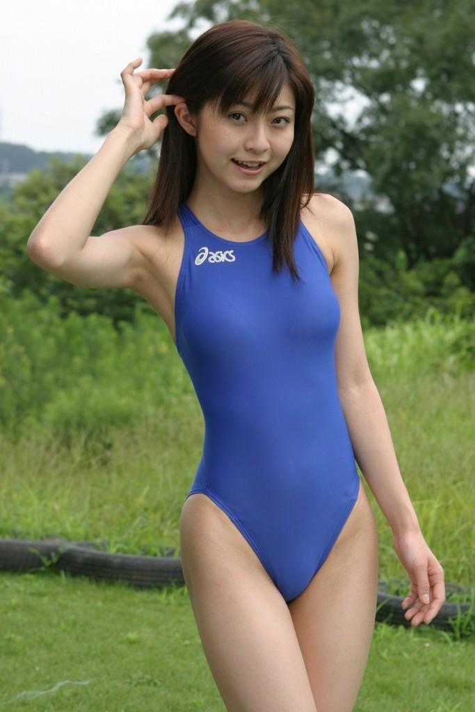 三次元 3次元 エロ画像 競泳水着 べっぴん娘通信 23