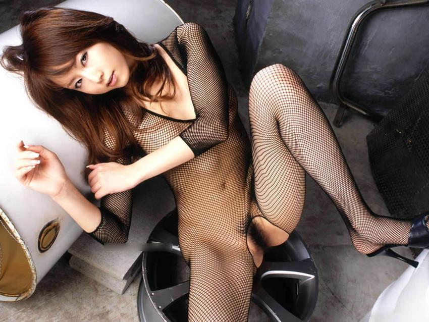 三次元 3次元 全身網タイツ エロ画像 べっぴん娘通信 11