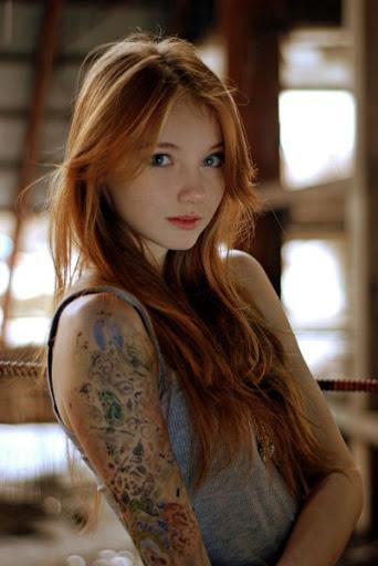 三次元 3次元 エロ画像 外国人 赤髪 赤毛 べっぴん娘通信 38