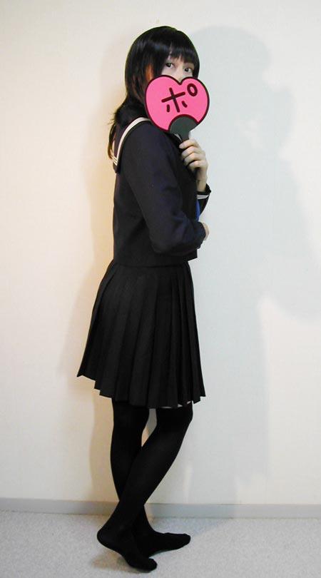 三次元 3次元 エロ画像 セーラー服 黒パンスト ストッキング べっぴん娘通信 22