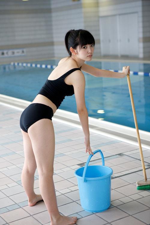 三次元 3次元 エロ画像 プール 水着 べっぴん娘通信 08