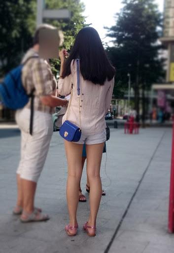 三次元 3次元 エロ画像 素人 美脚 街撮り べっぴん娘通信 36