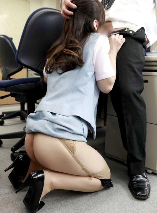 三次元 3次元 エロ画像 フェラチオ OL オフィス べっぴん娘通信 23