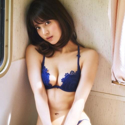 三次元 3次元 エロ画像 青 水色 ランジェリー 下着 べっぴん娘通信 34