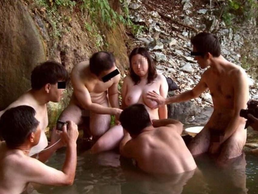 三次元 3次元 エロ画像 混浴 温泉 風呂 べっぴん娘通信 10