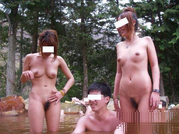 三次元 3次元 エロ画像 混浴 温泉 風呂 べっぴん娘通信 14