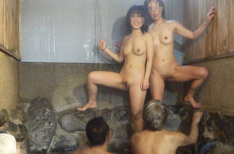 三次元 3次元 エロ画像 混浴 温泉 風呂 べっぴん娘通信 22
