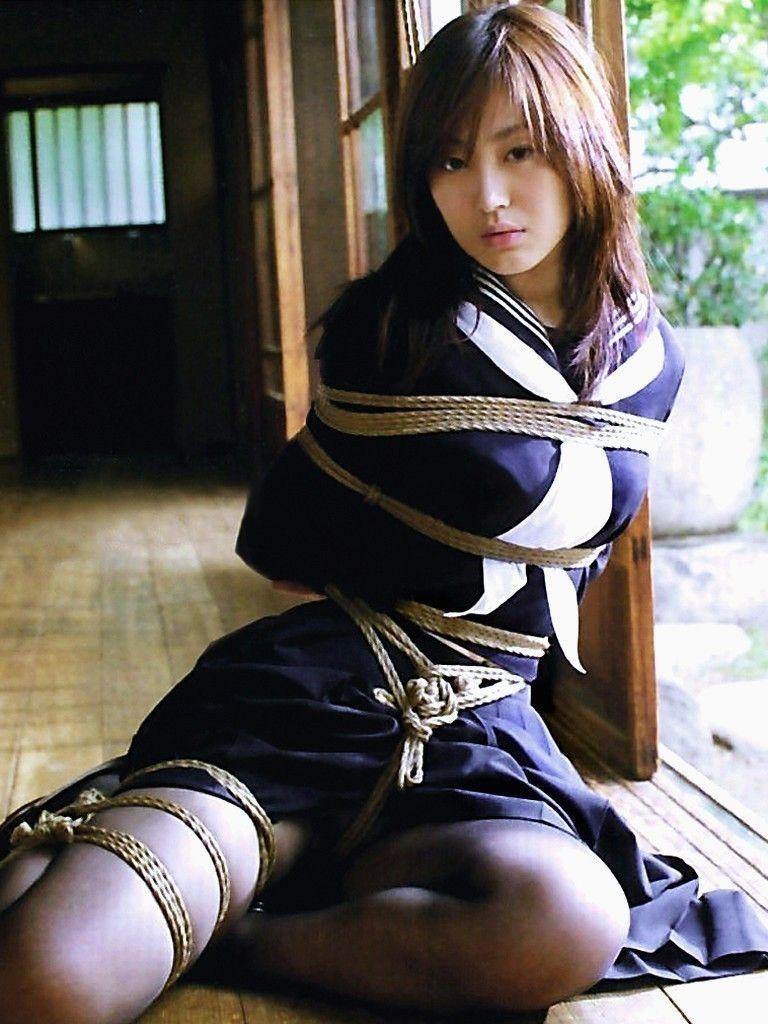 三次元 3次元 エロ画像 JK 女子校生 緊縛 べっぴん娘通信 01