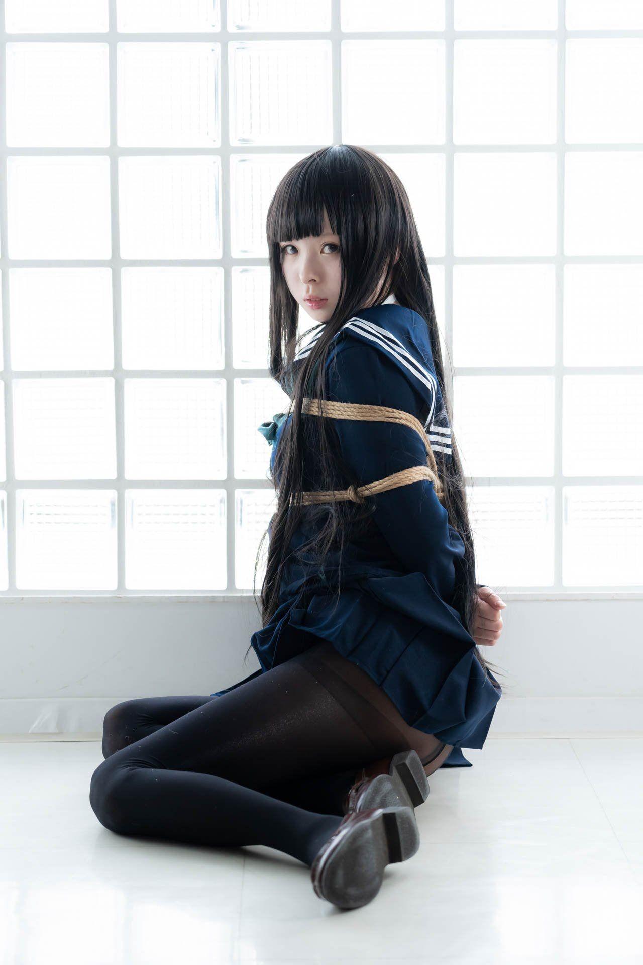 三次元 3次元 エロ画像 JK 女子校生 緊縛 べっぴん娘通信 05