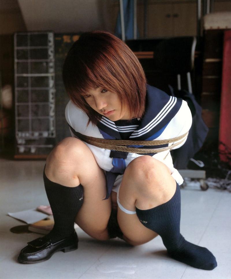三次元 3次元 エロ画像 JK 女子校生 緊縛 べっぴん娘通信 17