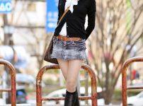 三次元 3次元 エロ画像 ミニスカ ブーツ べっぴん娘通信 01