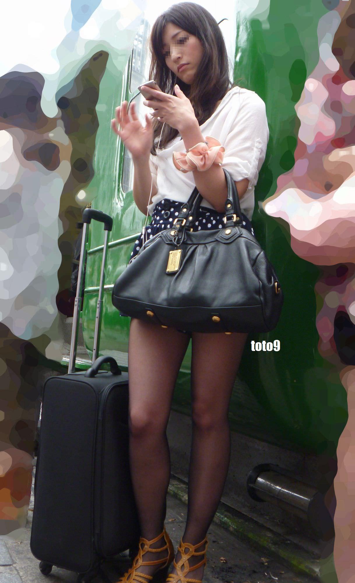 三次元 3次元 エロ画像 美脚 素人 街撮り べっぴん娘通信 22