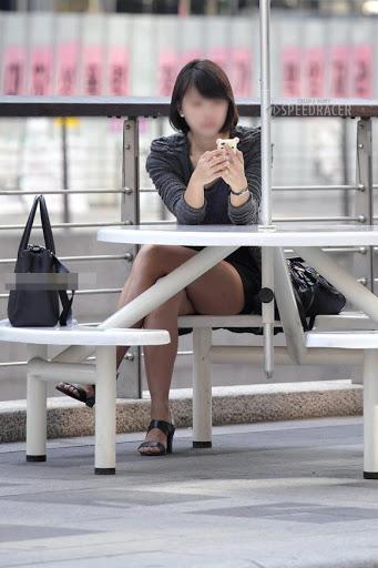 三次元 3次元 エロ画像 素人 美脚 街撮り べっぴん娘通信 26