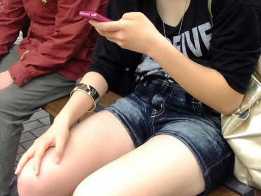 三次元 3次元 エロ画像 街撮り ホットパンツ べっぴん娘通信 25