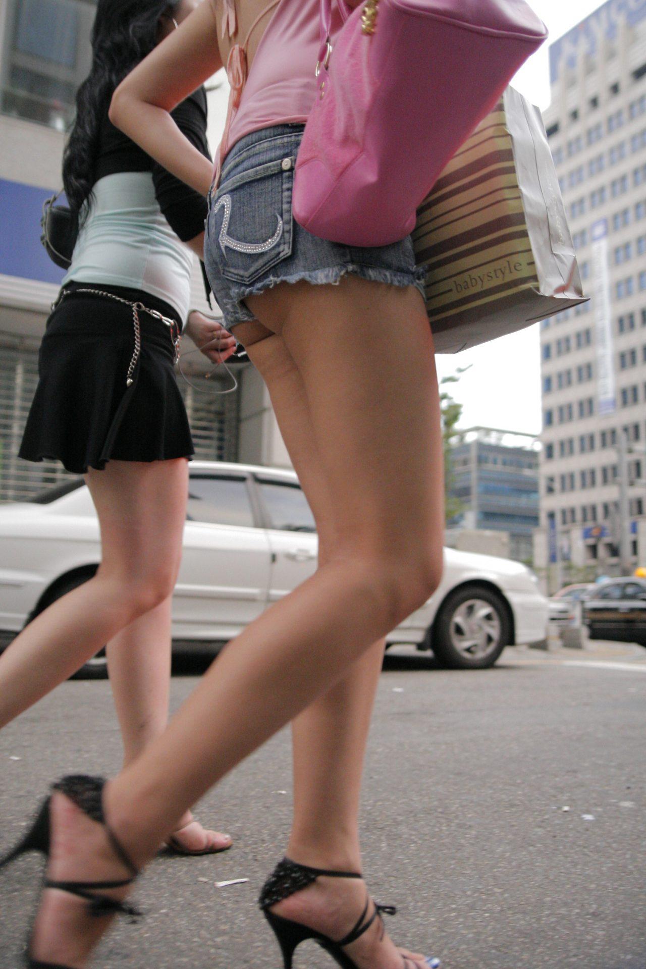 三次元 3次元 エロ画像 街撮り ホットパンツ べっぴん娘通信 29