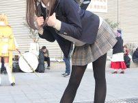 三次元 3次元 エロ画像 JK 女子校生 制服 黒パンスト べっぴん娘通信 01