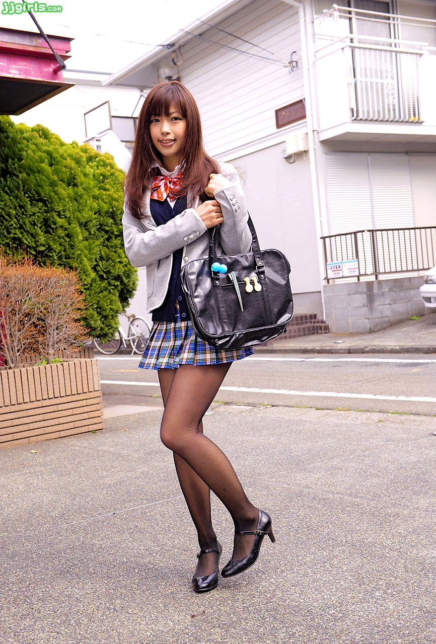 三次元 3次元 エロ画像 JK 女子校生 制服 黒パンスト べっぴん娘通信 23