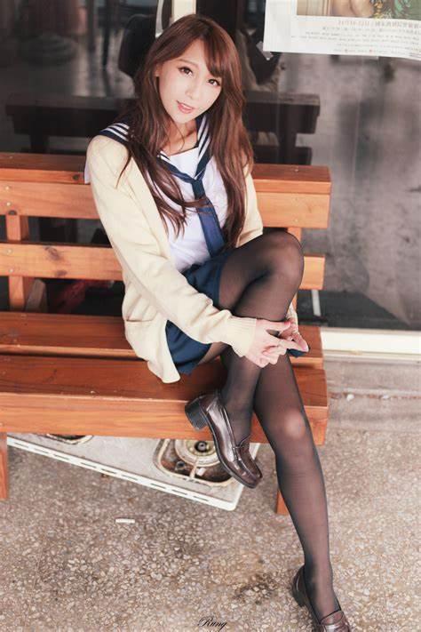 三次元 3次元 エロ画像 JK 女子校生 制服 黒パンスト べっぴん娘通信 32