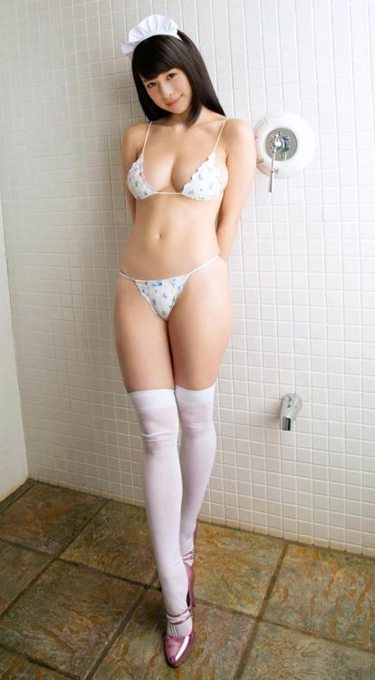 三次元 3次元 エロ画像 メイド ビキニ べっぴん娘通信 04
