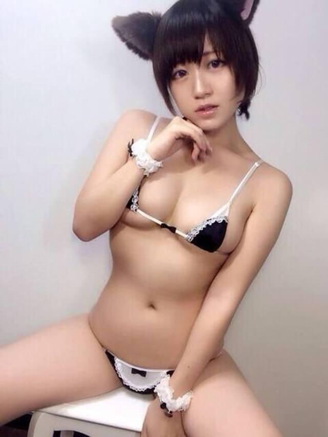 三次元 3次元 エロ画像 メイド ビキニ べっぴん娘通信 19
