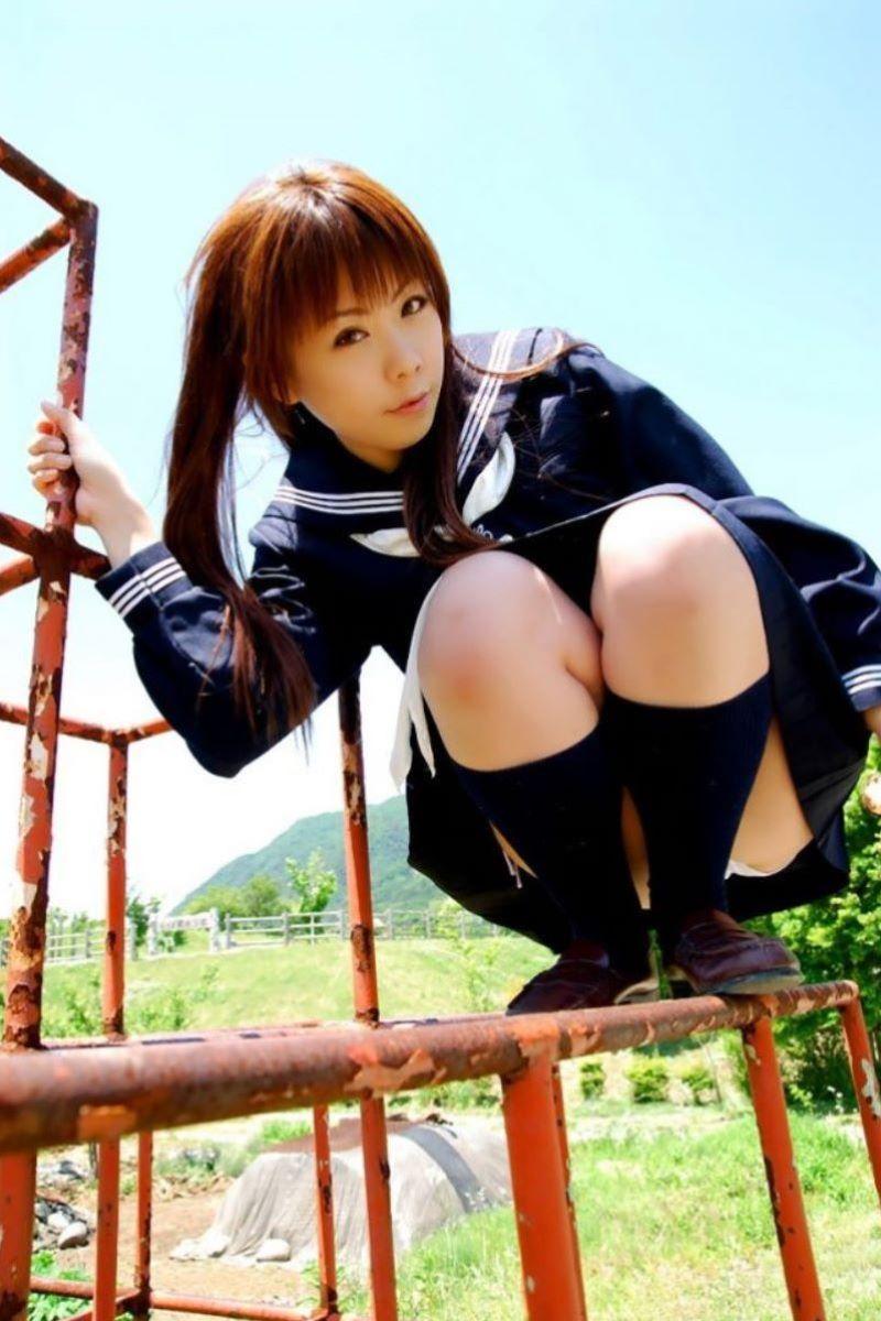 三次元 3次元 エロ画像 JK 女子校生 パンチラ べっぴん娘通信 33