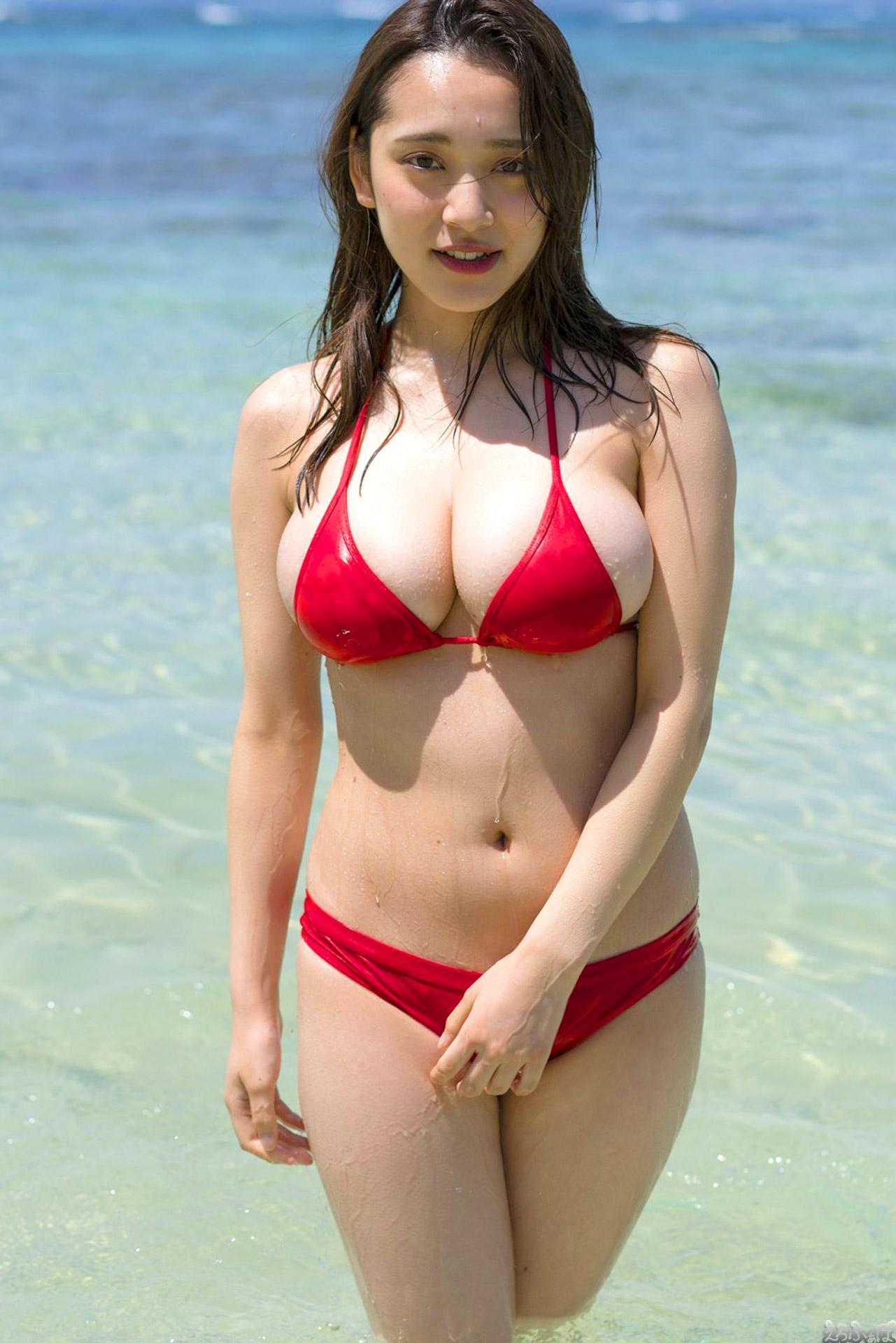 三次元 3次元 エロ画像 赤 ビキニ べっぴん娘通信 26