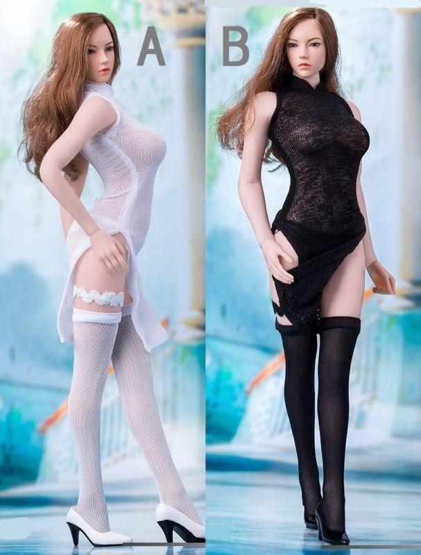 三次元 3次元 エロ画像 チャイナドレス 透け透け シースルー べっぴん娘通信 10