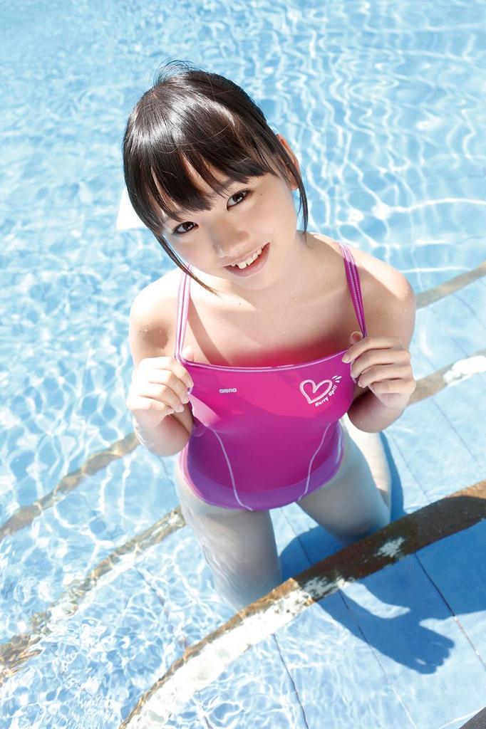 三次元 3次元 エロ画像 プールサイド 水着 べっぴん娘通信 27