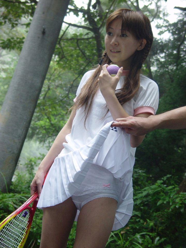 三次元 3次元 エロ画像 テニスウェア べっぴん娘通信 16