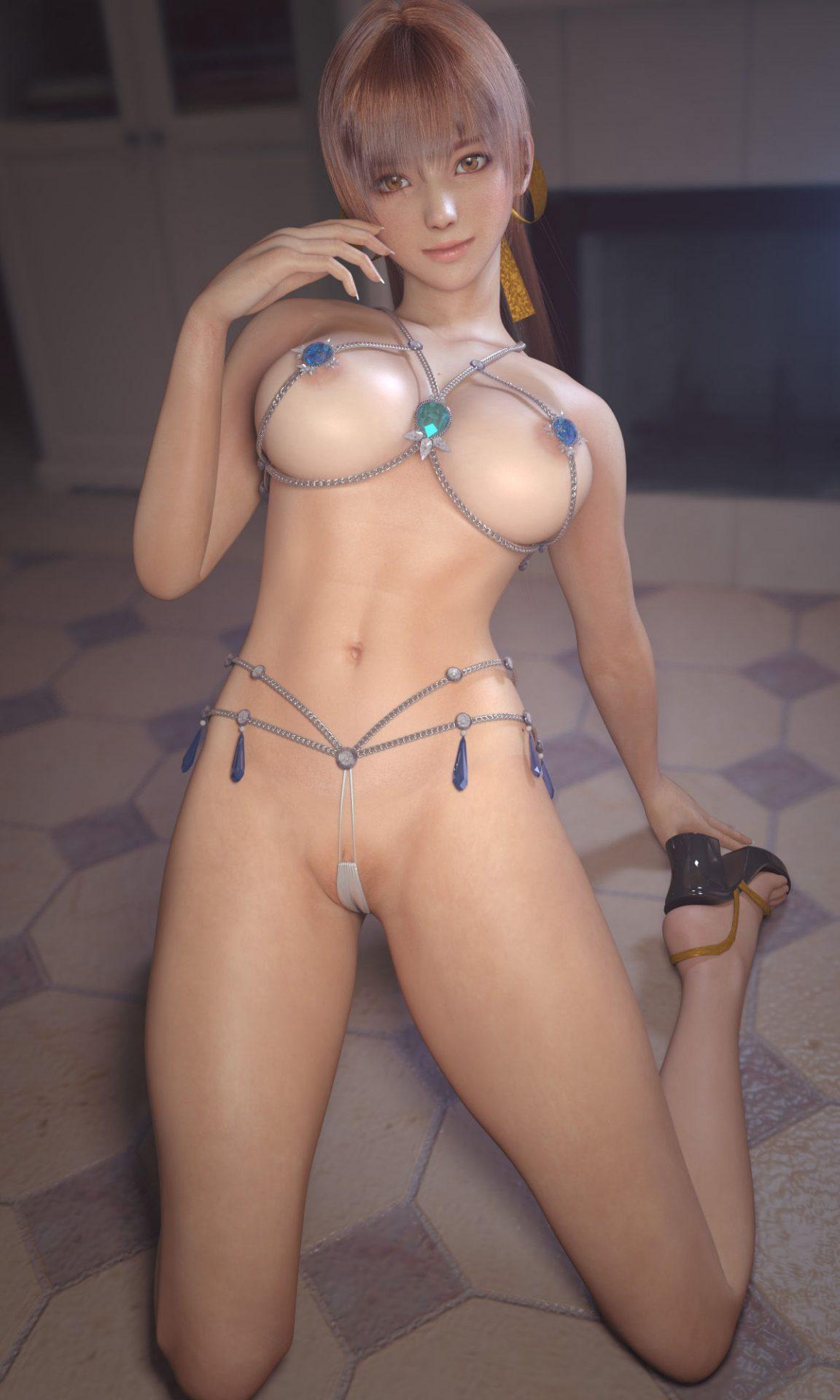 二次元 2次元 エロ画像 3DCG べっぴん娘通信 07
