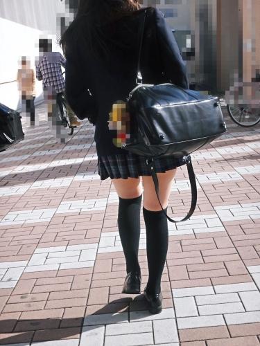 三次元 3次元 エロ画像  JK 女子校生 ニーソックス べっぴん娘通信 31