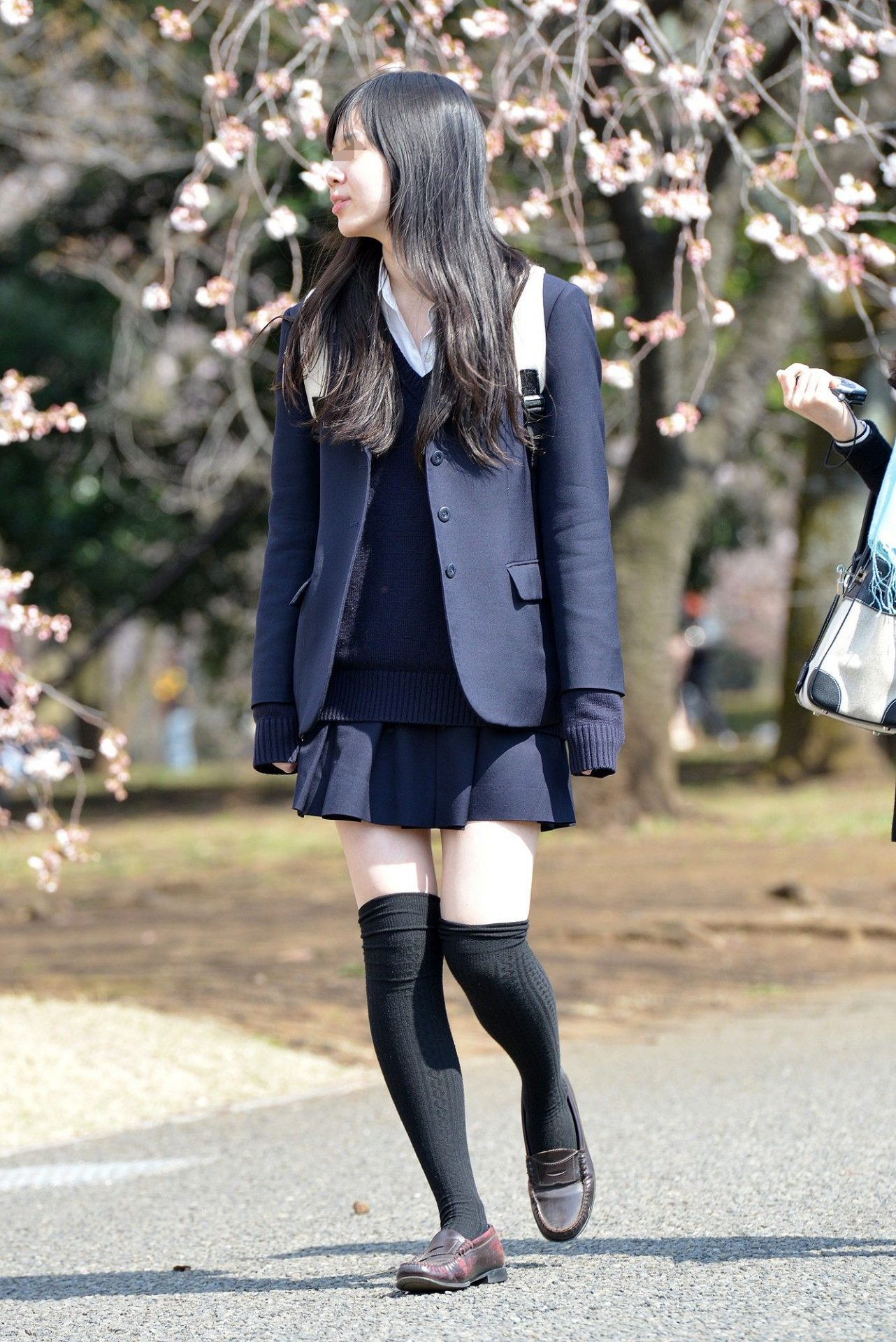 三次元 3次元 エロ画像  JK 女子校生 ニーソックス べっぴん娘通信 32