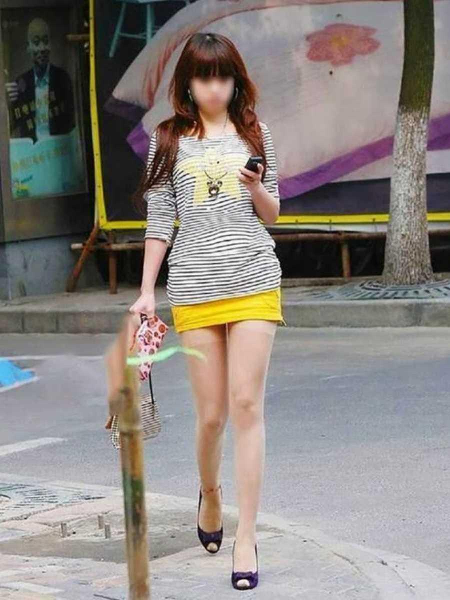 三次元 3次元 エロ画像 素人 美脚 街角 べっぴん娘通信 11