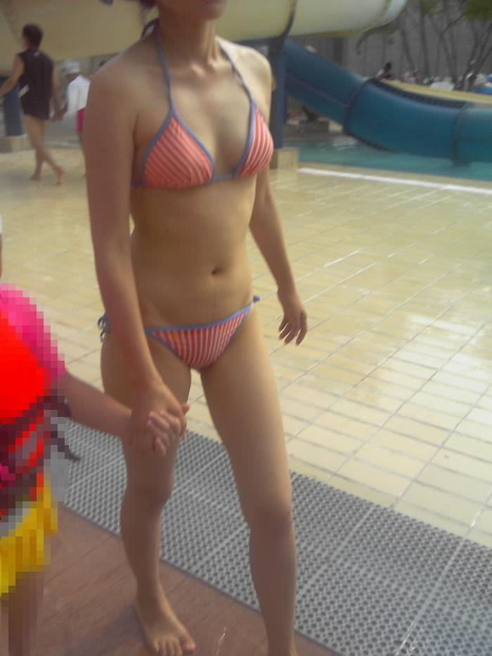 三次元 3次元 エロ画像 素人 水着 ビキニ 海 ビーチ プール べっぴん娘通信 09
