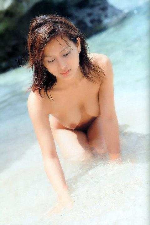 三次元 3次元 エロ画像 ビーチ 砂浜 ヌード べっぴん娘通信 06