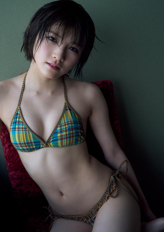 三次元 3次元 エロ画像 ショートカット ビキニ 水着 べっぴん娘通信 14