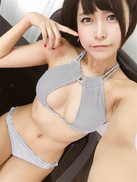 三次元 3次元 エロ画像 ショートカット ビキニ 水着 べっぴん娘通信 36