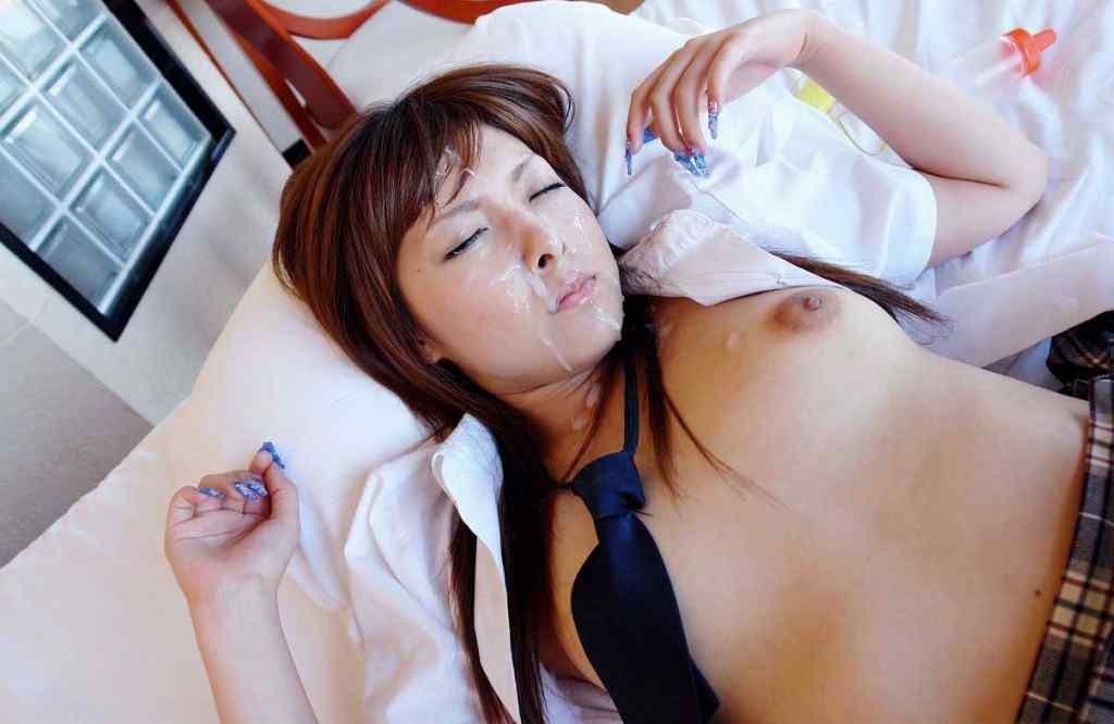 三次元 3次元 エロ画像 顔射 女子校生 JK べっぴん娘通信 14