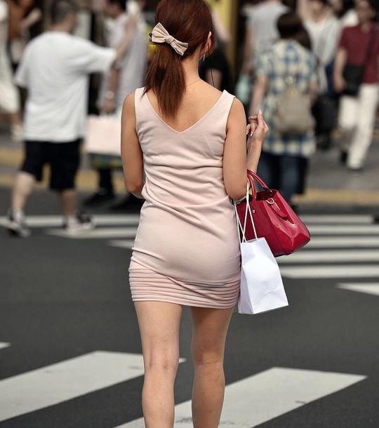 三次元 3次元 エロ画像 美脚 街撮り ワンピース 素人 べっぴん娘通信 08