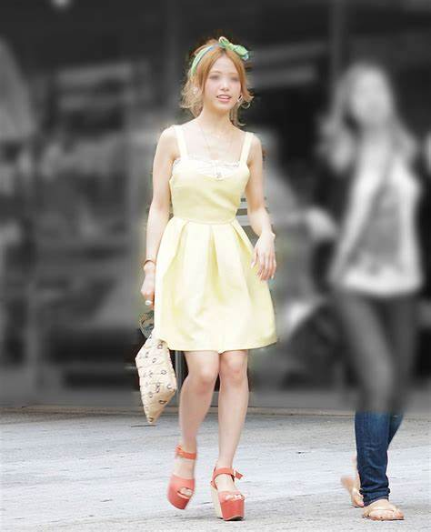 三次元 3次元 エロ画像 美脚 街撮り ワンピース 素人 べっぴん娘通信 26