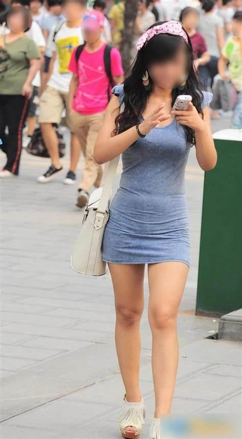 三次元 3次元 エロ画像 美脚 街撮り ワンピース 素人 べっぴん娘通信 27
